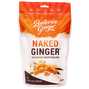 Buderim Ginger Naked Ginger Pouch 200gm - Simply For Me